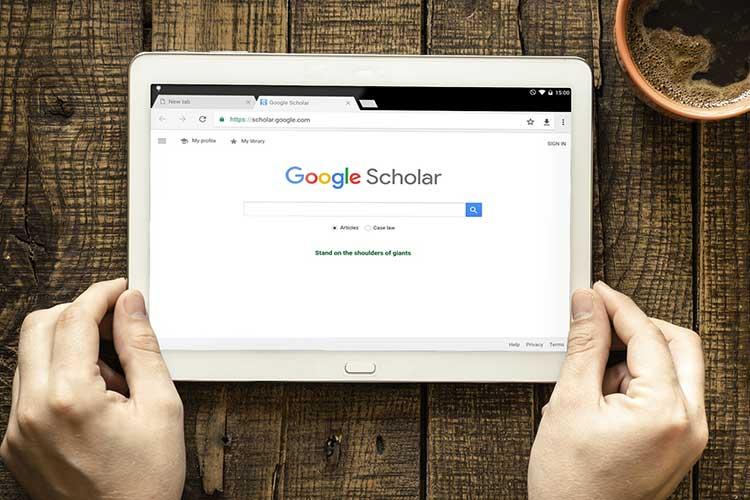 استفاده از گوگل اسکالر